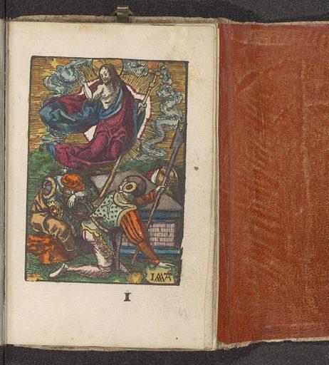 Resurrection. Origin: Amsterdam. Date: c 1530. Object ID: BI-1898-A-1742-69.