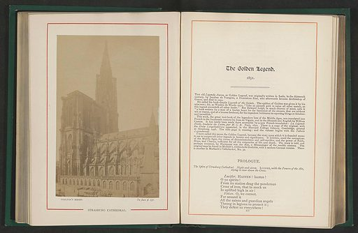 View of the Notre-Dame cathedral in Strasbourg. Date: c 1879 – in or before 1889. Object ID: RP-F-2001-7-87-2.