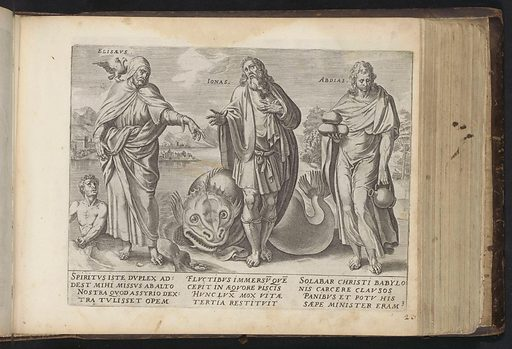 Elisa, Jonah and Obadiah. Origin: Amsterdam. Date: 1646. Object ID: RP-P-1982-306-258.