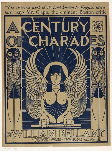 Bill for 'A Century of Charades' by William Bellamy