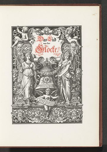 Schiller's song of the bell. Date: c 1881. Object ID: RP-F-2001-7-792.