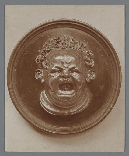 Screaming Amor from boxwood by Hendrik de Keyser