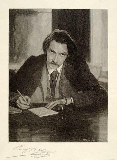 Robert Louis Stevenson. Sitter: Robert Louis Stevenson. Date: 1900s. Record ID: saam_1973.130.253.