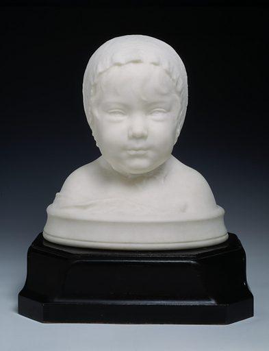 Rosalie Olin Warner--at age eleven months. Sitters: Rosalie Warner; Rosalie Warner. Date: 1880s. Record ID: saam_1974.88.32.