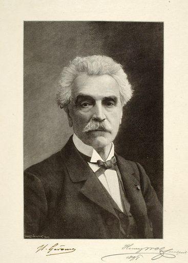 Jean Leon Gerome. Sitters: Jean Leon Gerome; Albert Gallatin. Date: 1890s. Record ID: saam_1973.130.152.
