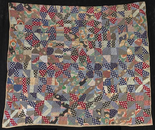 Untitled (String Quilt, Bow Tie Pattern). Date: 1930s. Record ID: saam_2016.5.43.