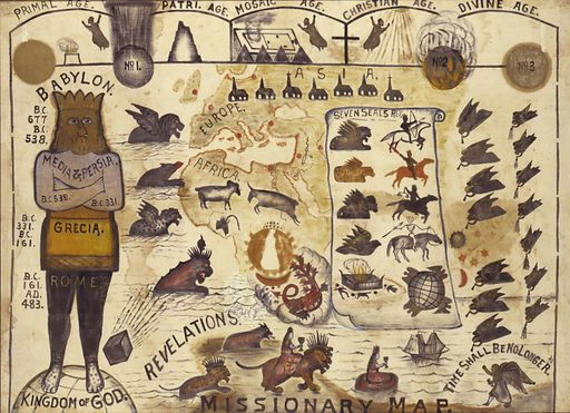Missionary Map. Date: 1890s. Record ID: saam_1986.65.150.