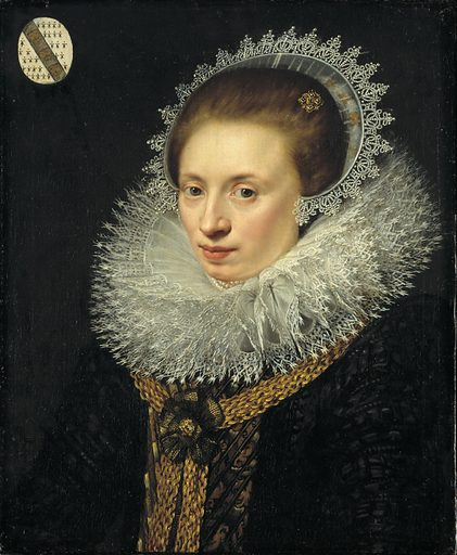 Judith Langley. Sitter: Judith Langley. Date: 1630s. Record ID: saam_1956.11.35.