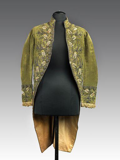 Coat. Date: 1800s. Record ID: saam_1929.8.475.