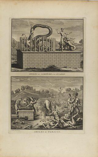 Idoles de Campêche et de Iucatan/Idoles de Tabasco. Date: 1720s. Record ID: saam_1967.103.43.
