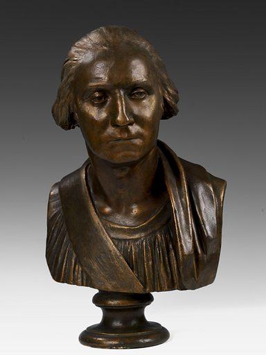 George Washington. Sitter: George Washington. Date: 1820s. Record ID: saam_XX6.
