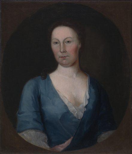 Mrs. Gustavus Brown. Sitter: Mrs. Gustavus Brown. Date: 1740s. Record ID: saam_1969.152.