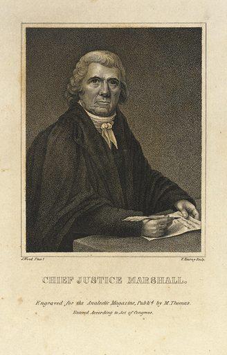 Marshall, Chief Justice (19th). Sitter: John Marshall. Record ID: saam_1978.152.65.