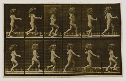 Child Running, from the book Animal Locomotion