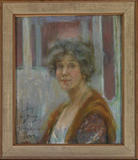 Self Portrait in 1924. Sitters: Alice Pike Barney; Alice Pike Barney. Date: 1920s. Record ID: saam_1951.14.91.