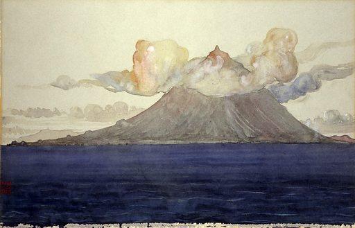 Mt. Pico, Azores Islands. Date: 1900s. Record ID: saam_1962.13.44.