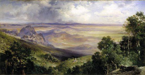Valley of Cuernavaca. Date: 1900s. Record ID: saam_1970.288.