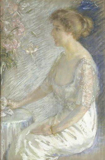 Katherine Hemmick Johnson. Sitter: Katherine Hemmick Johnson. Date: 1930s. Record ID: saam_1982.79.