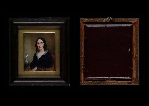 Mrs. James Reid Lambdin (Mary O'Hara Cochran). Sitter: Mrs. James Reid Lambdin. Date: 1850s. Record ID: saam_1978.162.2.