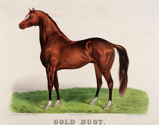 Gold Dust. Date: 1870s. Record ID: saam_1973.122.20.