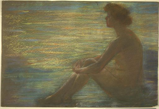 Nude against Sea. Date: 1930s. Record ID: saam_1951.14.81.