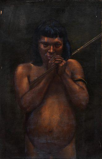 Cashivo Indian. Date: 1890s. Record ID: saam_1985.66.164_637.