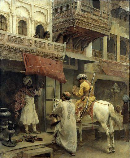 Street Scene in India. Date: 1880s. Record ID: saam_1906.9.19.