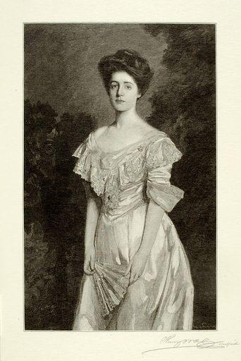 Miss Cowperthwait. Sitter: Miss Cowperthwait. Date: 1900s. Record ID: saam_1973.130.207.