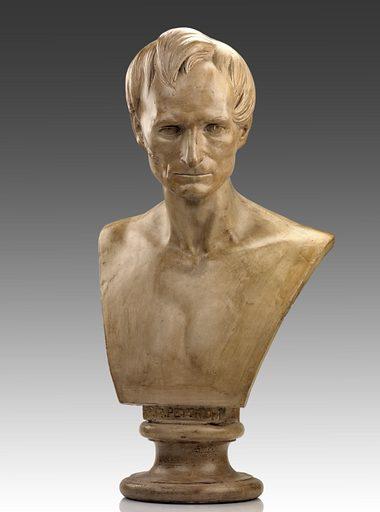 Gustave Adolph Pettrich? Sitters: Gustave Adolph Pettrich; Gustave Adolph Pettrich. Date: 1840s. Record ID: saam_XX25.