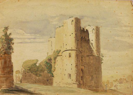 Saltwood Castle. Record ID: saam_1991.56.201.