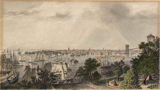 City of New York. Date: 1800s. Record ID: saam_1966.48.11.