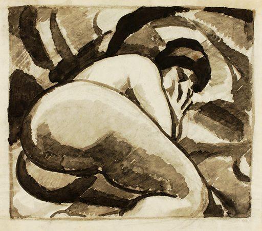 Reclining Female Nude. Record ID: saam_1967.63.39.