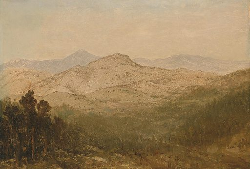 Mountains in Colorado. Date: 1870s. Record ID: saam_1967.136.6.
