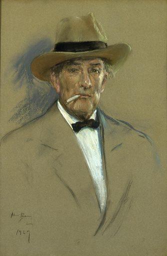 R. D. Shepherd. Sitter: R. D. Shepherd. Date: 1920s. Record ID: saam_1951.14.97.
