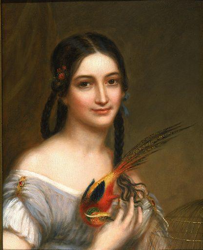 Miss Satterlee. Sitter: Miss Satterlee. Date: 1830s. Record ID: saam_1976.117.