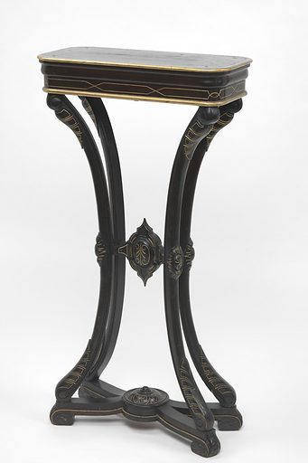 Pedestal Table (one of a pair). Date: 1880s. Record ID: saam_1970.43.