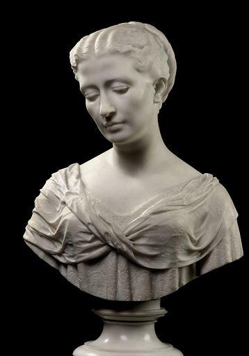 Julia Blatchford Potter (Mrs. E.T.). Sitter: Julia Blatchford Potter. Date: 1870s. Record ID: saam_1974.102.