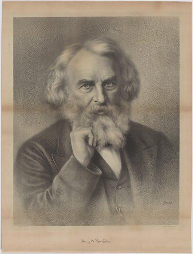 Henry Wadsworth Longfellow. Sitter: Henry Wadsworth Longfellow, 27 Feb 1807 – 24 Mar 1882. Date: 1870s. Record ID: npg_NPG.2010.74.