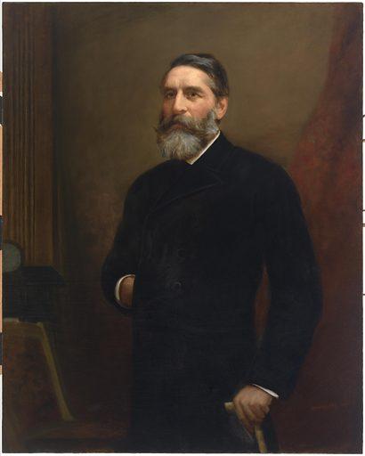 James Paris Lee. Sitter: James Paris Lee, 9 Aug 1831 – 24 Feb 1904. Date: 1880s. Record ID: npg_NPG.2011.59.
