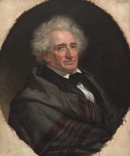 Thomas McKenney. Sitter: Thomas Loraine McKenney, 21 Mar 1785 – 20 Feb 1859. Date: 1850s. Record ID: npg_NPG.2011.62.
