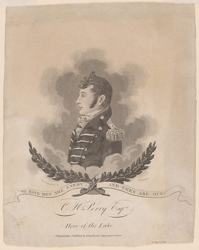 Oliver Hazard Perry. Sitter: Oliver Hazard Perry, 20 Apr 1785 – 23 Aug 1819. Date: 1800s. Record ID: npg_NPG.77.93.