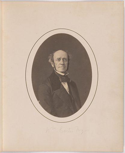 William Curtis Noyes. Sitter: William Curtis Noyes, 1805 – 1864. Record ID: npg_S_NPG.77.238.