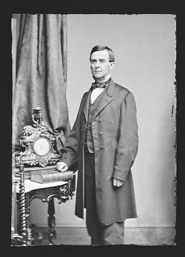 Charles R. Buckalew. Sitter: Charles Rollin Buckalew, 1821 – 1899. Date: 1860s. Record ID: npg_NPG.81.M498.