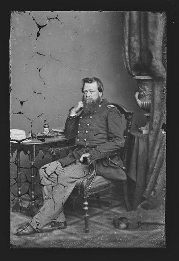Edward Zane Carroll Judson. Sitter: Edward Zane Carroll Judson, 20 Mar 1823 – 16 Jul 1886. Date: 1860s. Record ID: npg_NPG.81.M509.