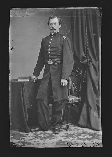 William L. M. Burger. Sitter: William L. M. Burger. Date: 1860s. Record ID: npg_NPG.81.M513.