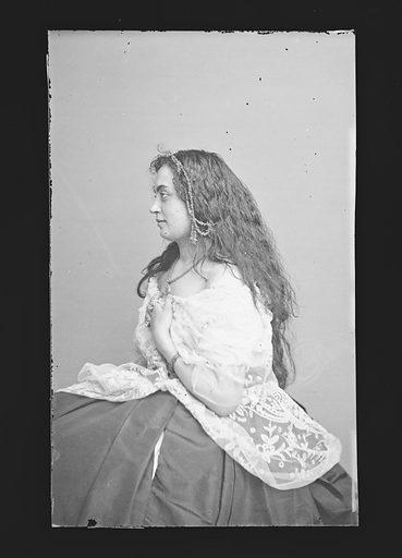 Hannah Albertine. Sitter: Hannah Albertine. Date: 1860s. Record ID: npg_NPG.81.M304.