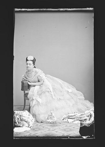 Hannah Albertine. Sitter: Hannah Albertine. Date: 1860s. Record ID: npg_NPG.81.M307.