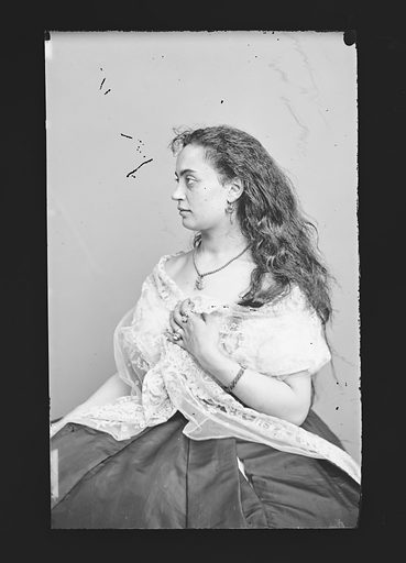 Hannah Albertine. Sitter: Hannah Albertine. Date: 1860s. Record ID: npg_NPG.81.M310.
