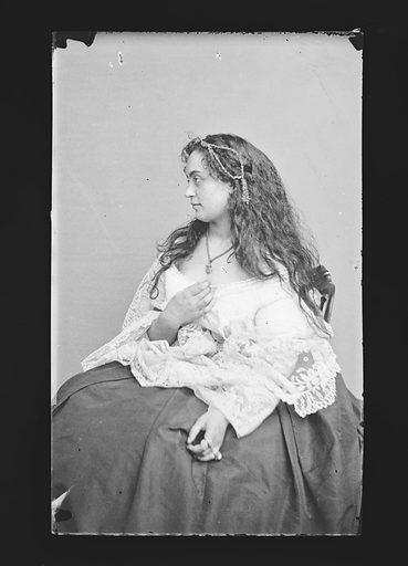 Hannah Albertine. Sitter: Hannah Albertine. Date: 1860s. Record ID: npg_NPG.81.M313.