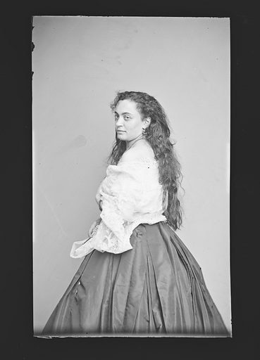 Hannah Albertine. Sitter: Hannah Albertine. Date: 1860s. Record ID: npg_NPG.81.M314.